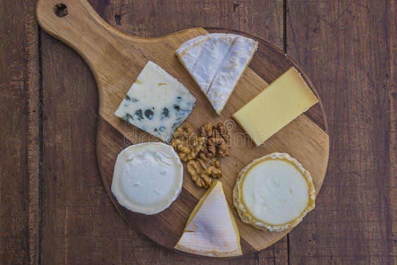 法国的干酪 库存照片