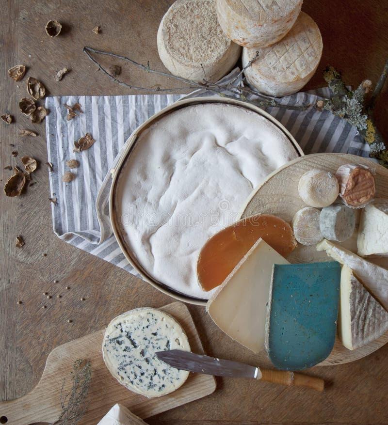 法国的干酪 免版税库存照片
