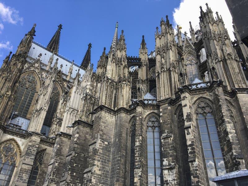 法国的盛大大教堂 免版税图库摄影