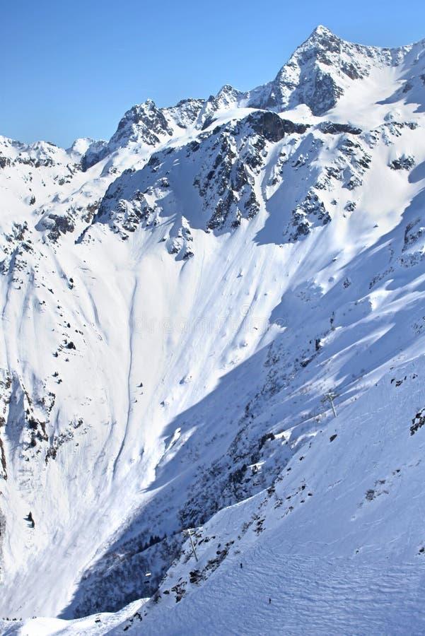 法国的阿尔卑斯 图库摄影