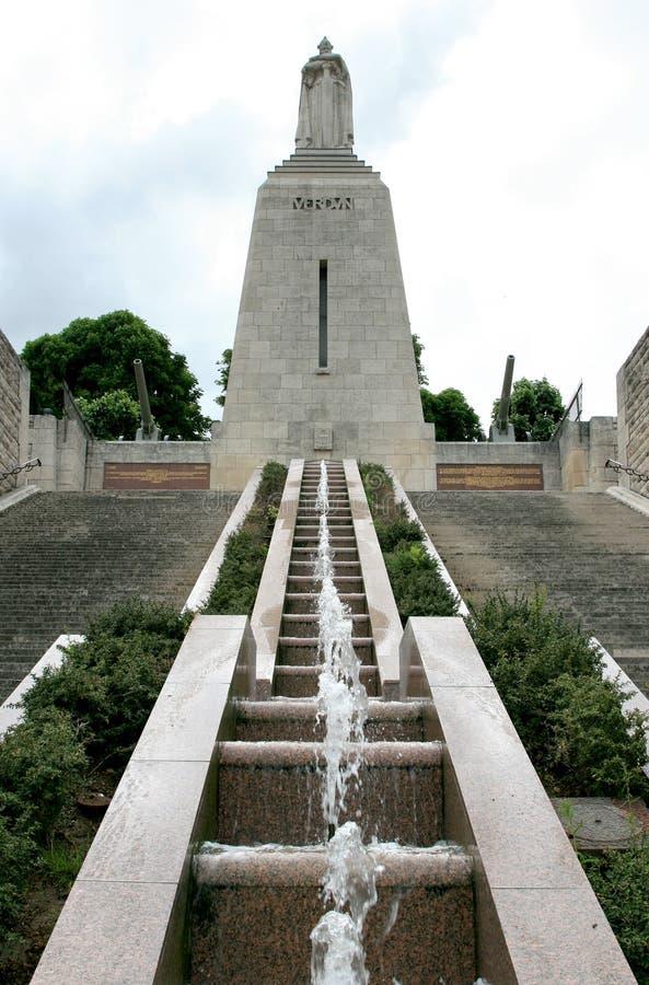 法国纪念碑和平verdun 库存图片