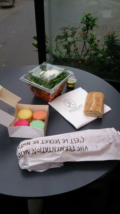 法国膳食 图库摄影