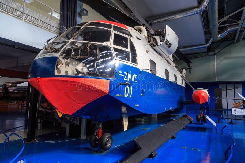 法国航太公司SA-3210超级Frelon 免版税库存照片