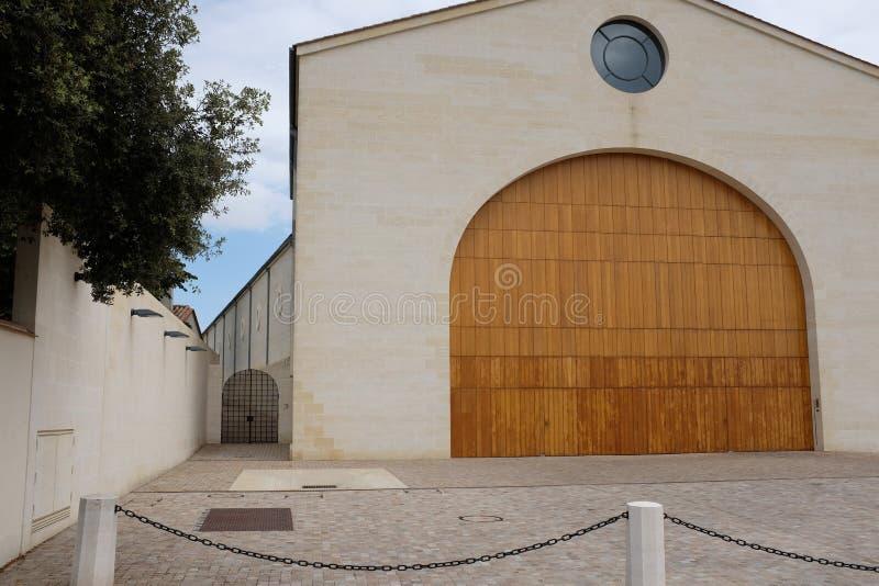 法国著名酿酒厂 库存图片