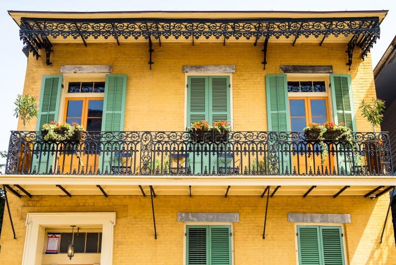 法国街区 免版税库存图片