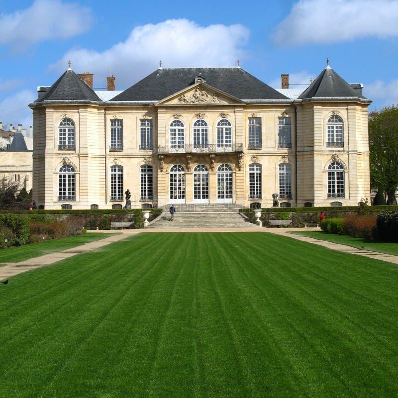 法国豪宅博物馆巴黎rodin 库存照片