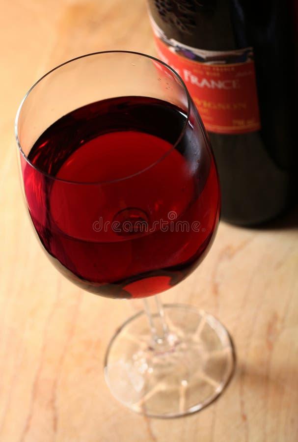 法国酒 免版税图库摄影
