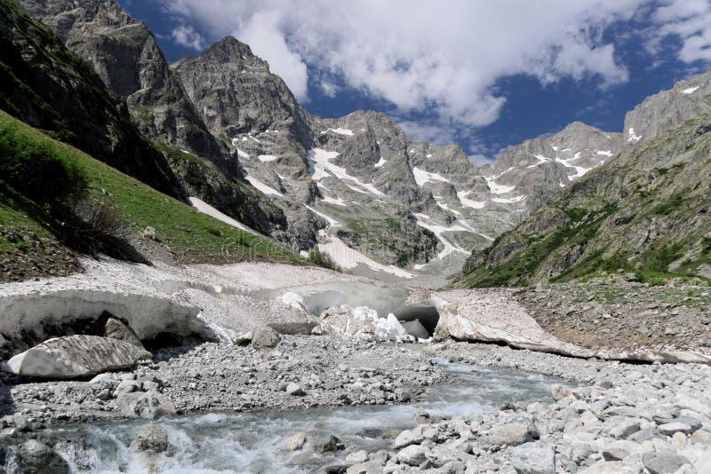 法国阿尔卑斯谷 库存图片