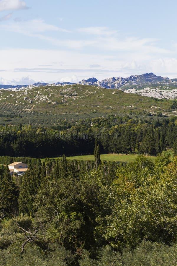 法国阿尔卑斯风景 库存照片