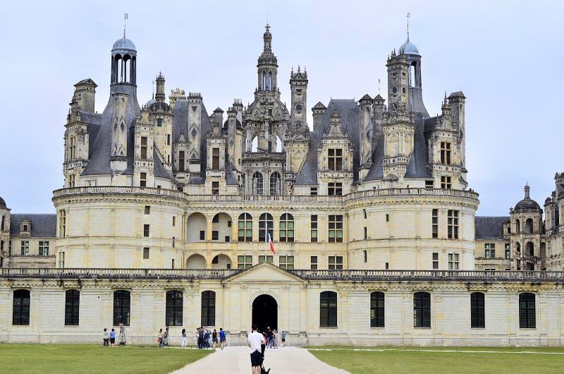 法国,卢瓦尔河流域 免版税库存图片