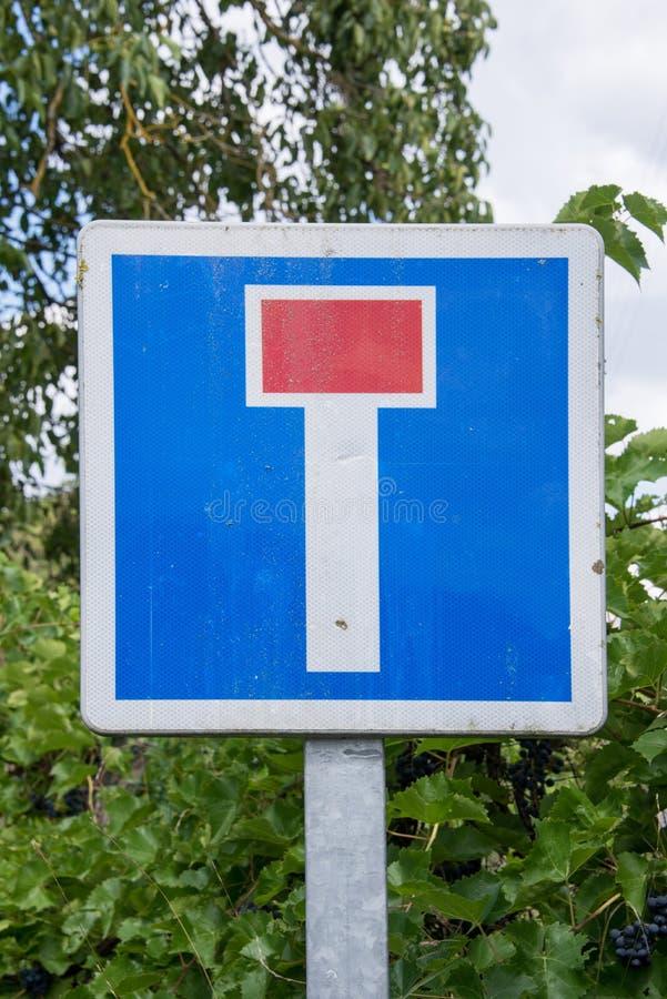 法国死角标志 免版税库存照片