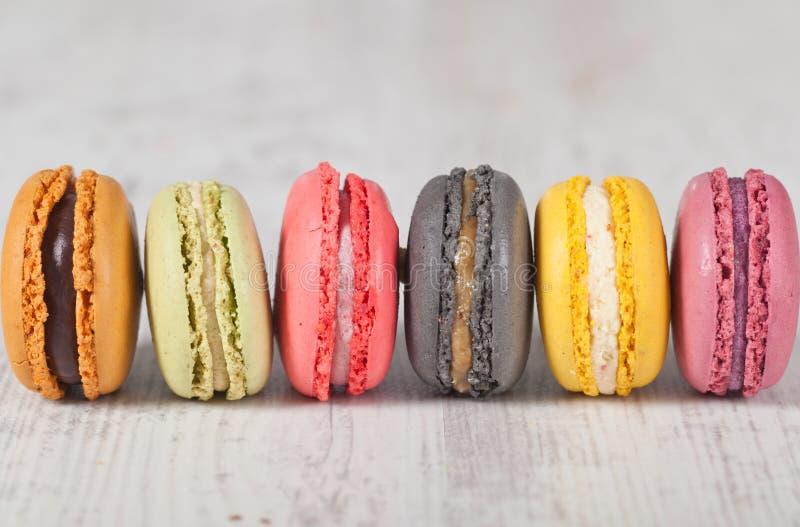 法国macarons 库存照片