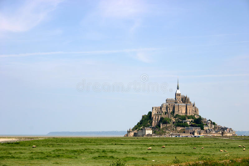 法国michel mont st 库存图片