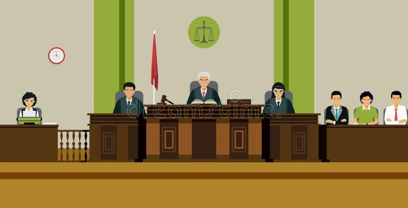 法官室 皇族释放例证