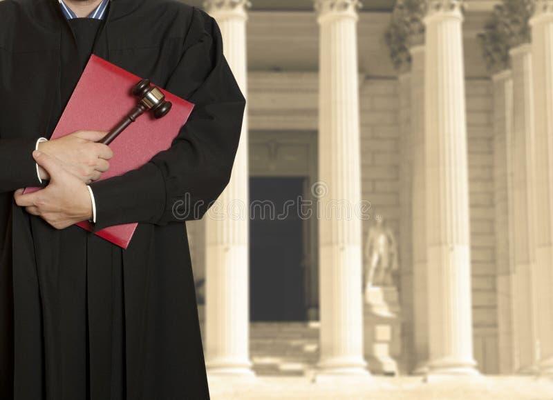法官 免版税库存照片