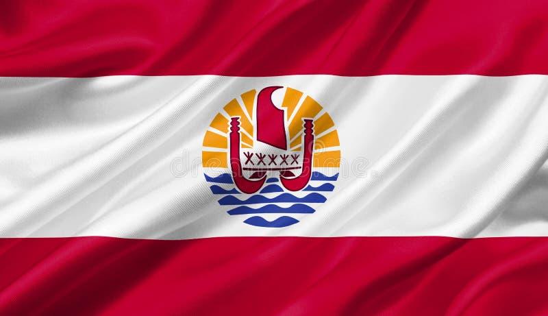 法属玻里尼西亚沙文主义情绪与风, 3D例证 库存例证