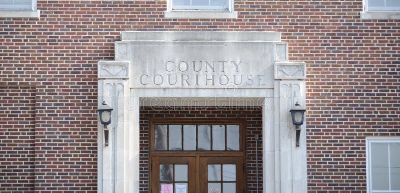 法庭和评断 免版税库存图片