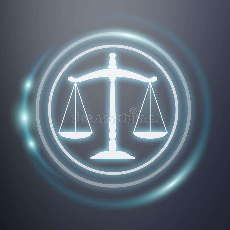 法律保护权利象3D翻译 向量例证
