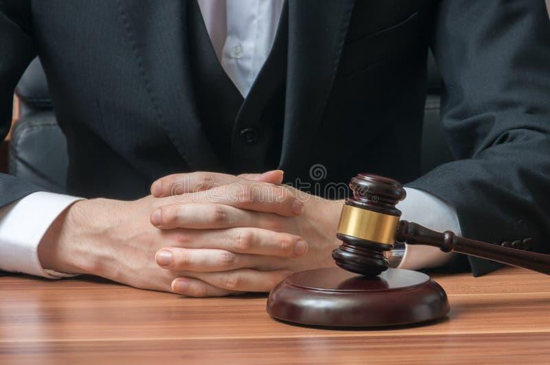 法律和正义概念 E 免版税库存图片