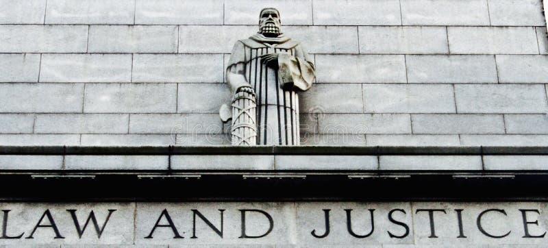 法律和正义 免版税图库摄影