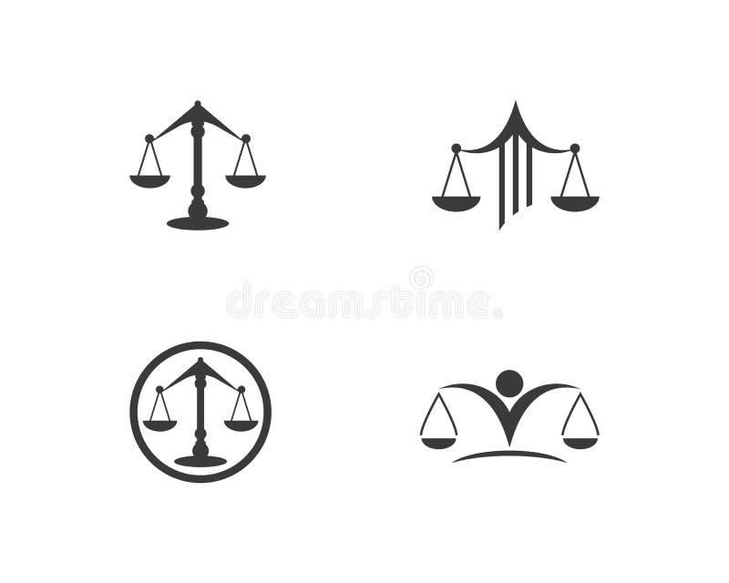 法律商标传染媒介 库存例证