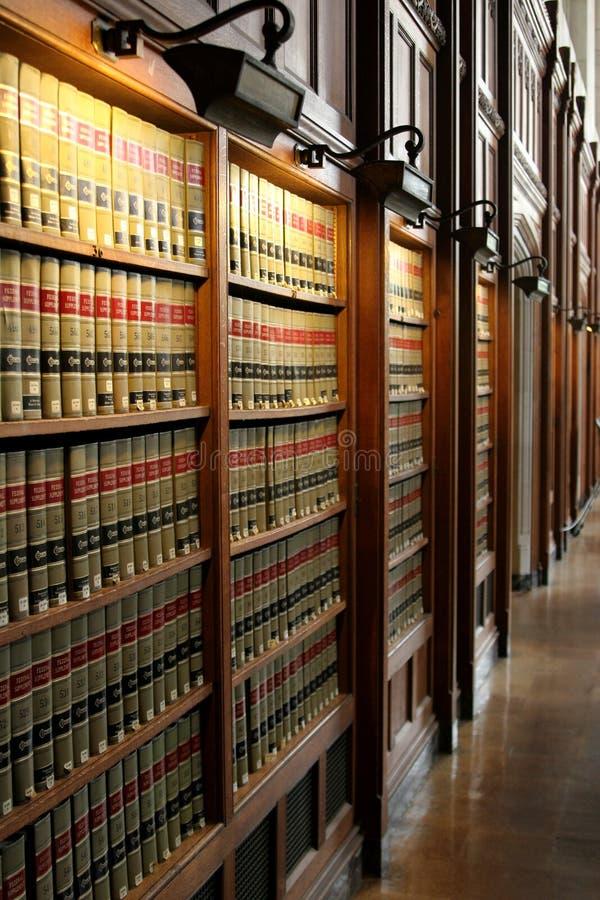 法律图书馆 库存照片