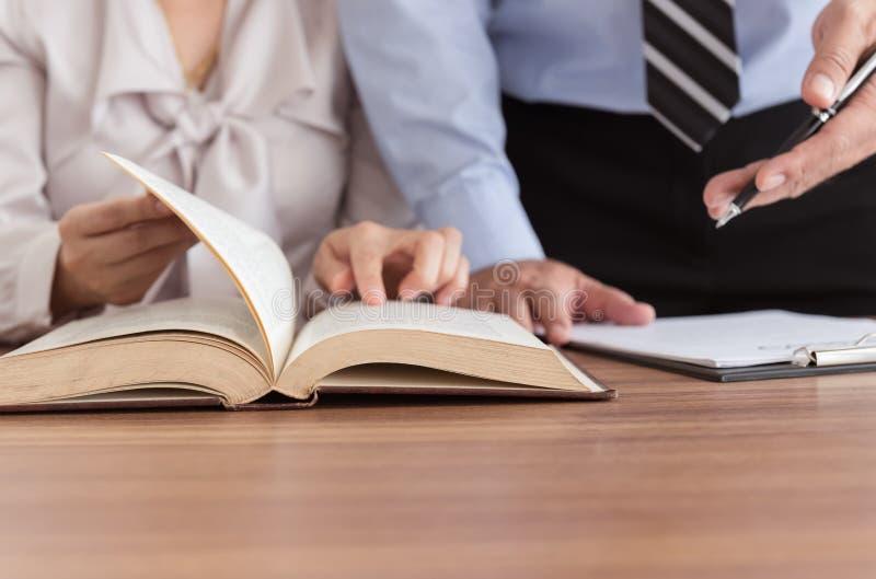 法律帮助 免版税库存图片