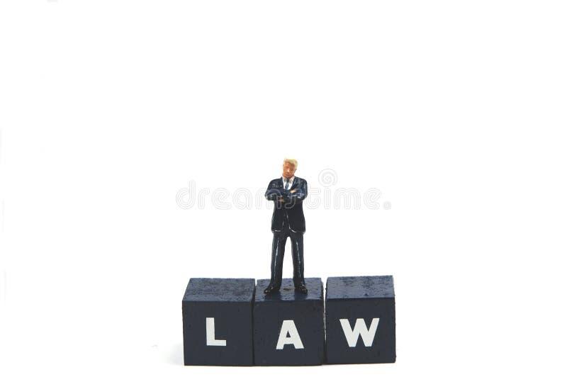 法律服从 库存图片