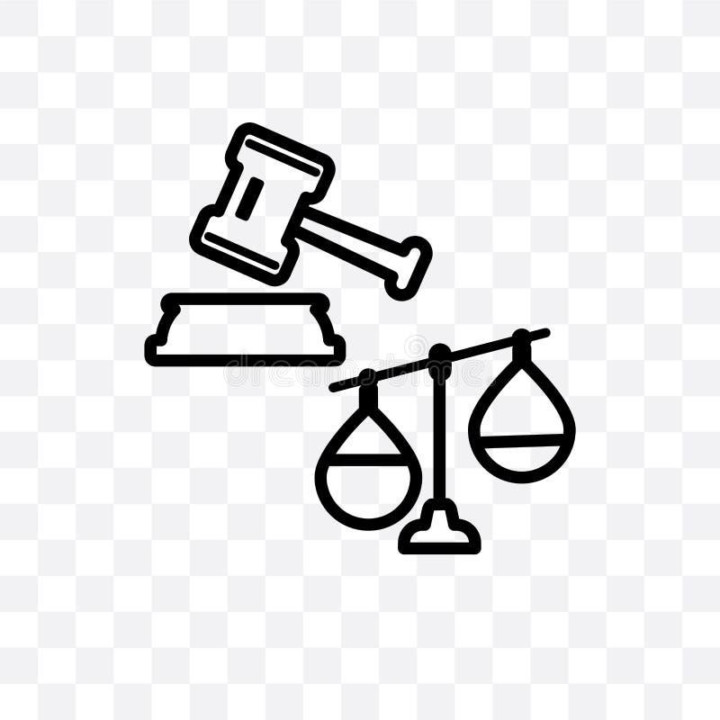 法律费用导航在透明背景隔绝的线性象,法律费用透明度概念可以为网使用和 皇族释放例证