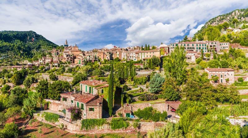 法德摩萨村庄,帕尔马马略卡 免版税库存图片