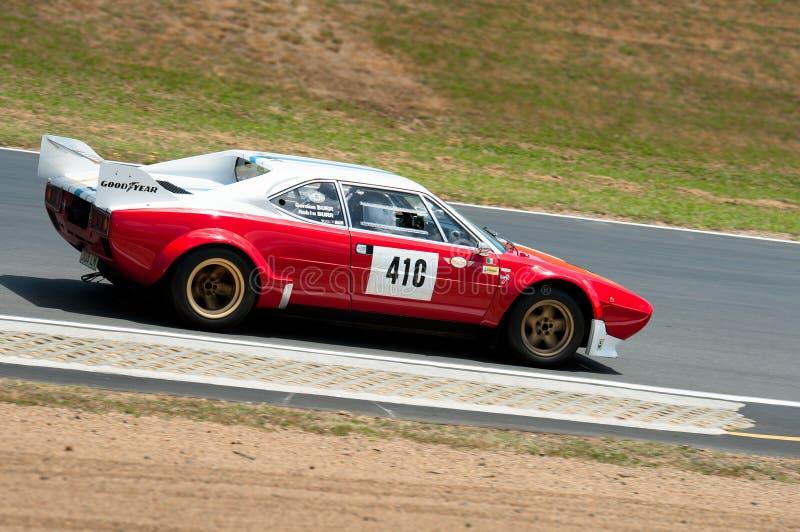 法拉利1980 GT4LMR挑战 库存照片