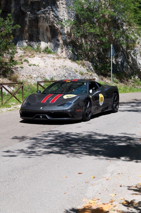 法拉利458 Speciale 免版税图库摄影