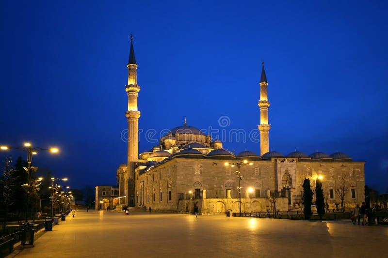 法提赫清真寺或征服者的清真寺 图库摄影