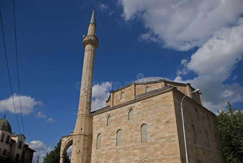 法提赫清真寺,普里什蒂纳,科索沃 库存照片