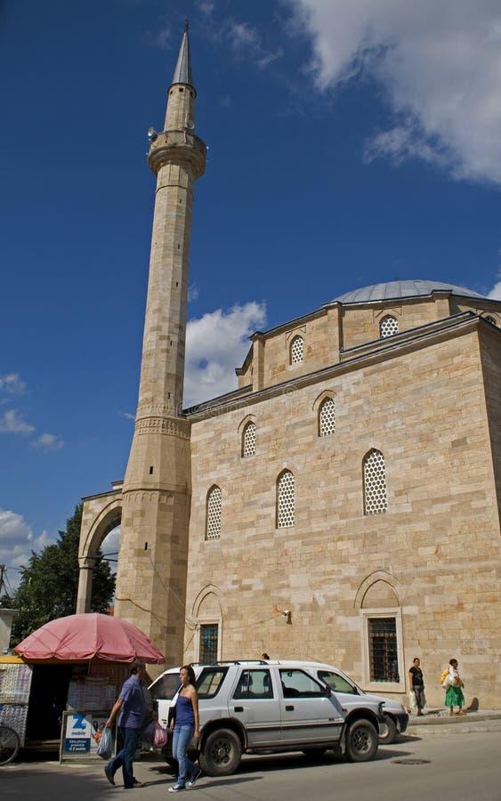 法提赫清真寺,普里什蒂纳,科索沃 图库摄影