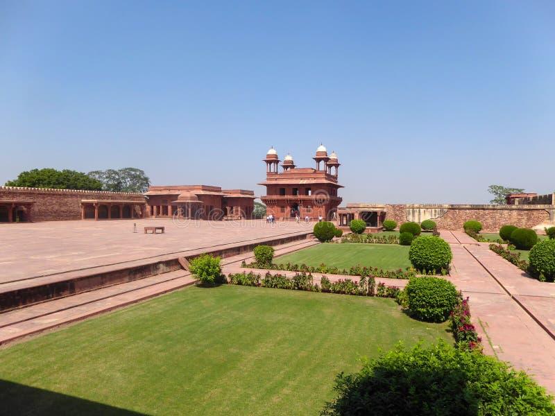 法泰赫普尔西克里是印度的细分,位于阿格拉区,北方邦状态的,印度 库存图片