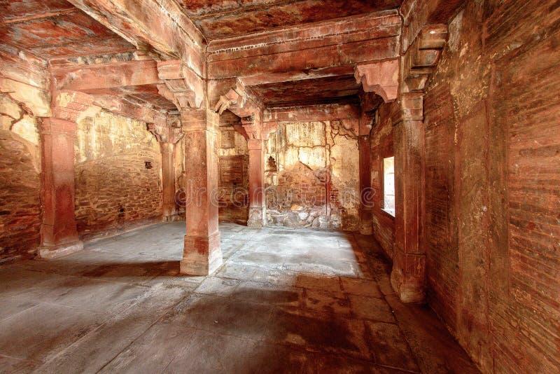 法泰赫普尔西克里,印度古城 免版税库存图片