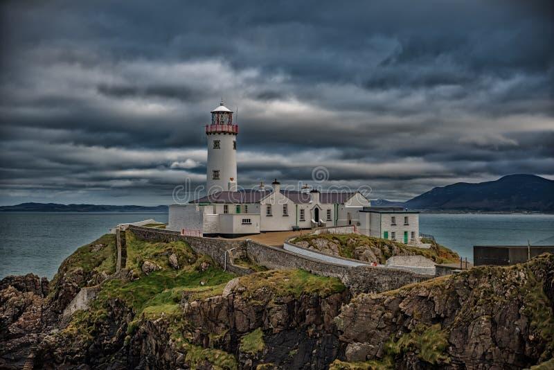法纳德灯塔,多尼戈尔,爱尔兰大西洋海岸 免版税库存图片