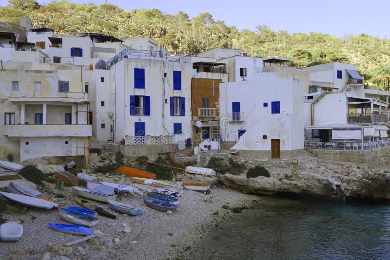 法维尼亚纳,西西里岛的大蝴蝶 免版税库存图片
