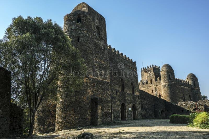 法西尔盖比在贡德尔,埃塞俄比亚 免版税库存照片
