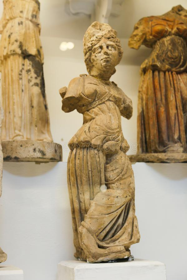 法规希腊罗马在埃及博物馆 库存图片
