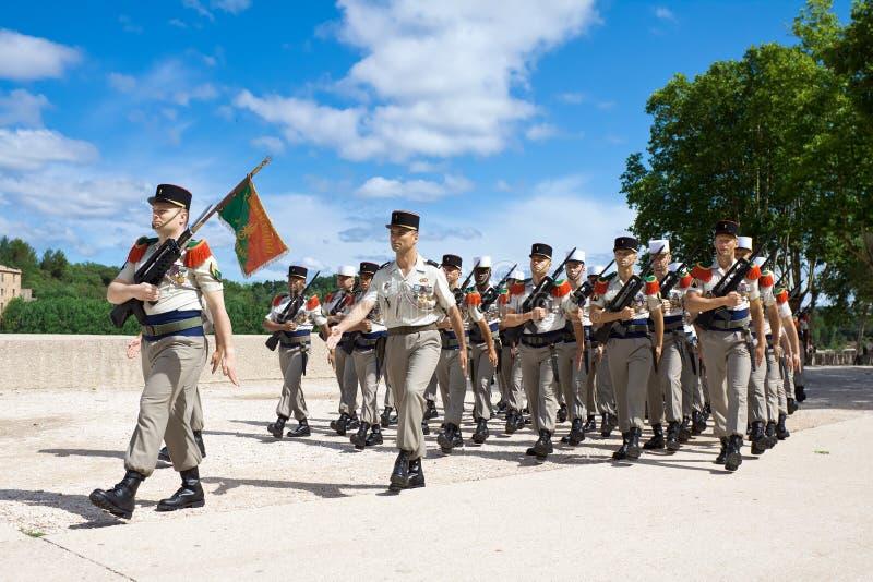 法语外国军队 库存图片