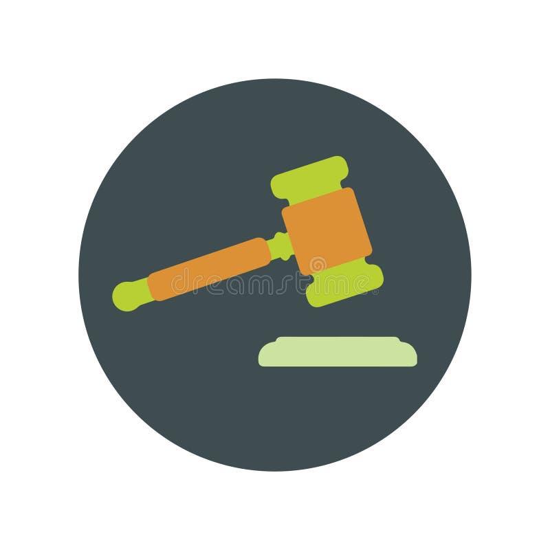 法院平的象传染媒介 皇族释放例证