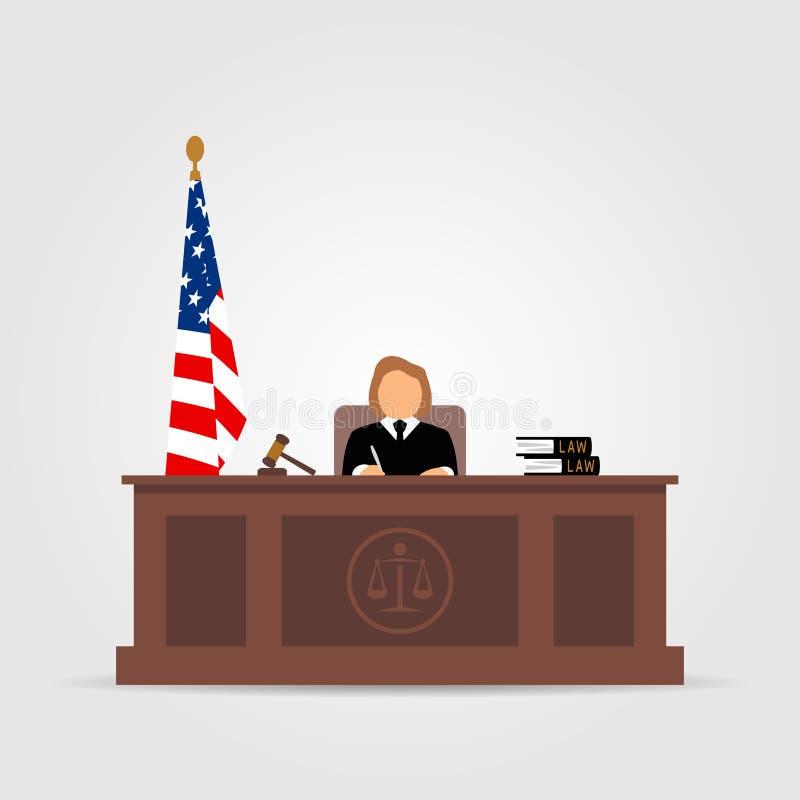 法院象 皇族释放例证
