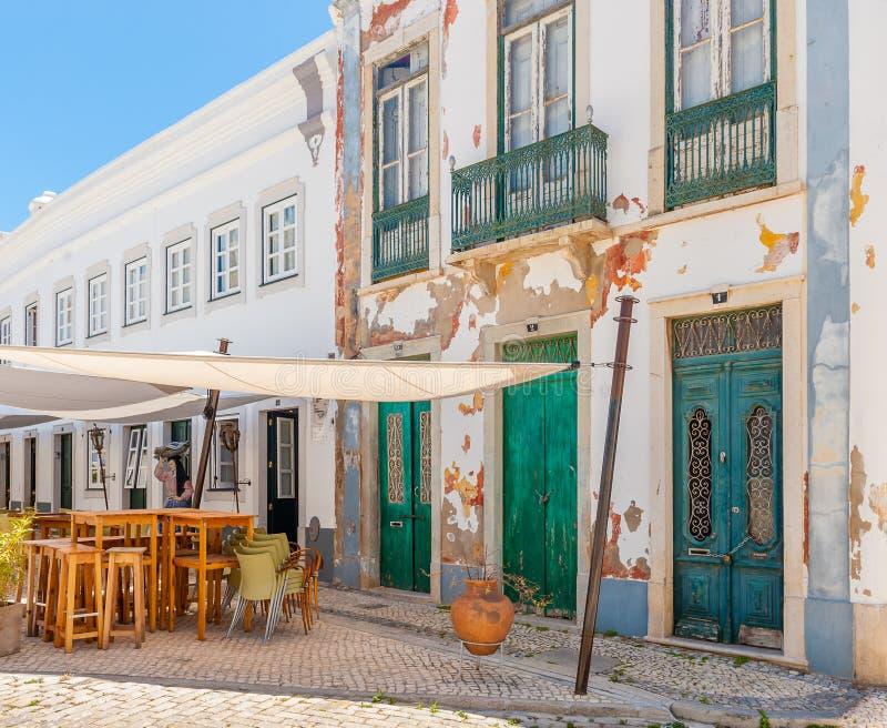 法鲁,阿尔加威,葡萄牙 库存照片