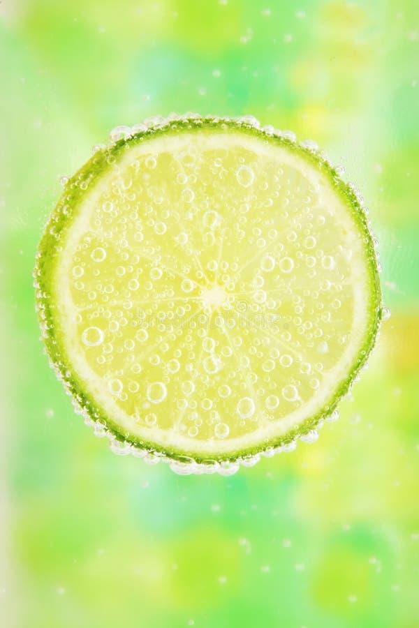 泡影关闭柠檬  库存照片