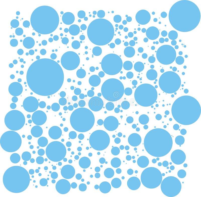 泡影向量 库存例证
