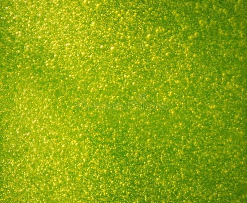 泡影绿色 免版税图库摄影