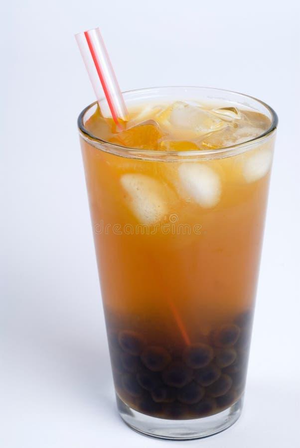 泡影绿茶 免版税图库摄影
