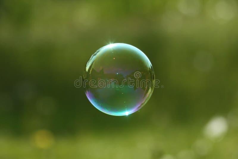 泡影肥皂 免版税图库摄影